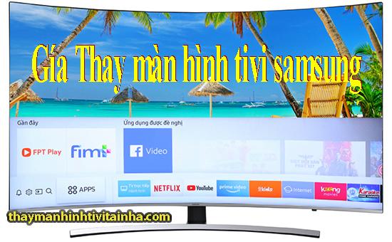 bảng giá thay màn hình tivi samsung