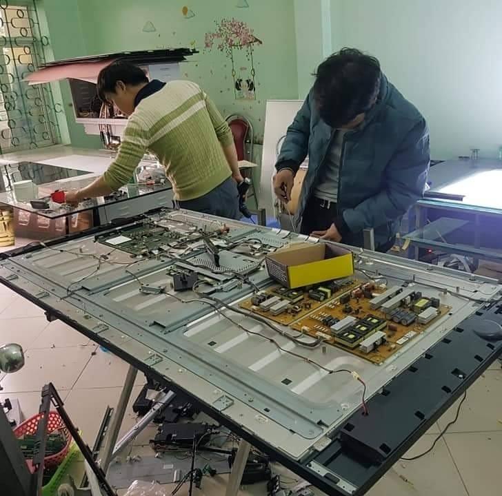 sửa tivi tại văn cao đào tấn